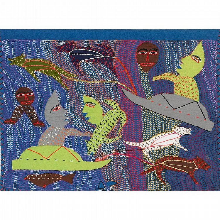 INUIT ART: ELI ELIJASSIAPIK (1936-), E9-1609,