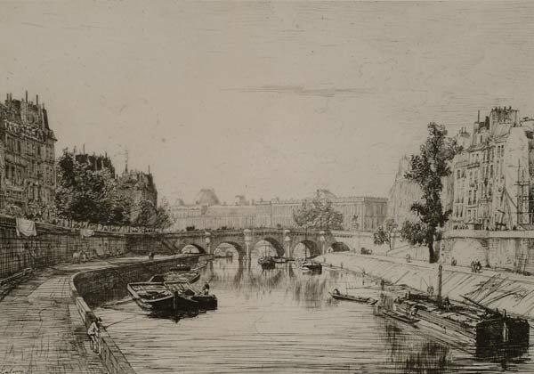 Prints Maxime Lalanne (1827-1886), THE LO