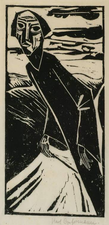 Prints Karl Opfermann (1881-1960), FIGURE