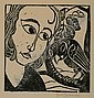 Prints Karl Opfermann (1881-1960), GIRL W, Karl Opfermann, Click for value