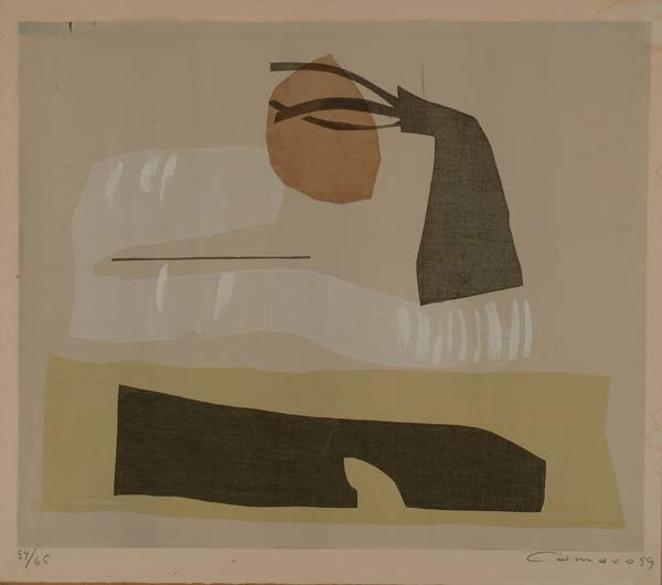 Prints Alexander Camaro (1901-1992), KOMP