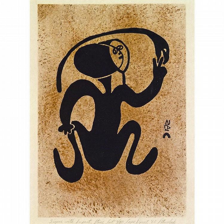 PITSEOLAK ASHOONA (1904-1983), E7-1100, Cape
