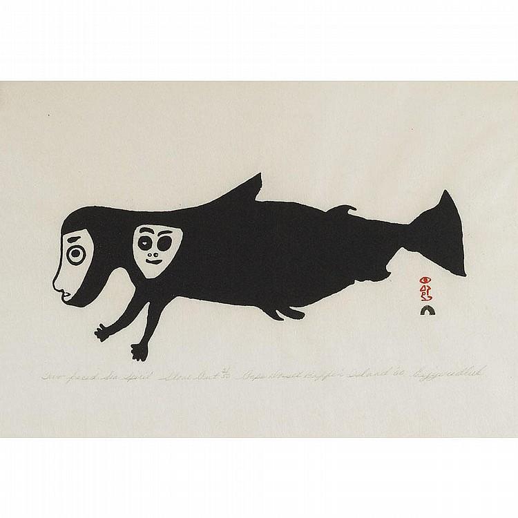 EEGYVUDLUK POOTOOGOOK (1931-), E7-865, Cape Dorset