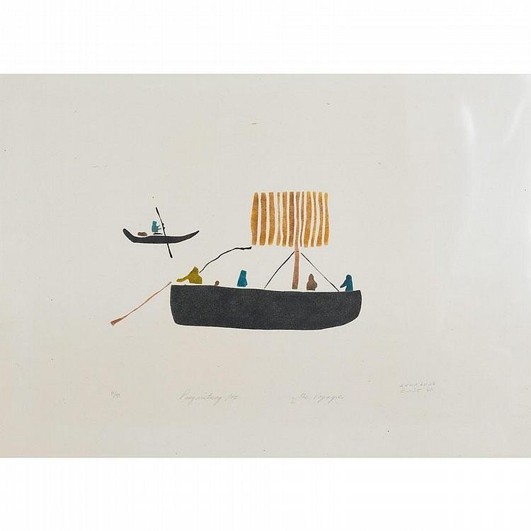 ELISAPEE ISHULUTAQ (1925-), E6-176, Iqaluit THE
