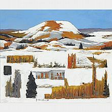 PAUL VANIER BEAULIEU, R.C.A., SAINT-SAUVEUR, 1974, oil on canvas, 20 ins x 24 ins; 50.8 cms x 61 cms