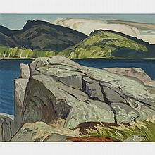 ALFRED JOSEPH CASSON, O.S.A., P.R.C.A., LAKE LA PECHE, oil on canvas board, 9.5 ins x 11.25 ins; 24.1 cms x 28.6 cms