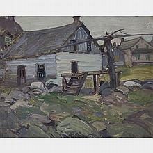 JAMES EDWARD HERVEY MACDONALD, O.S.A., R.C.A., MATTAWA, oil on board, 8 ins x 10 ins; 20.3 cms x 25.4 cms