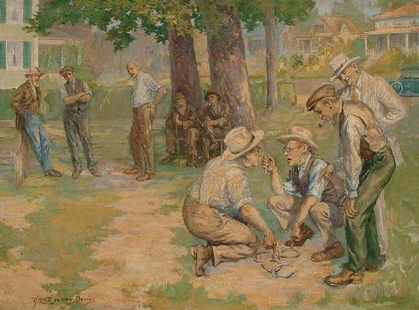 American Art Alfred James Dewey