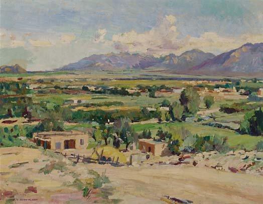 American Art Julius Charles Berninghaus