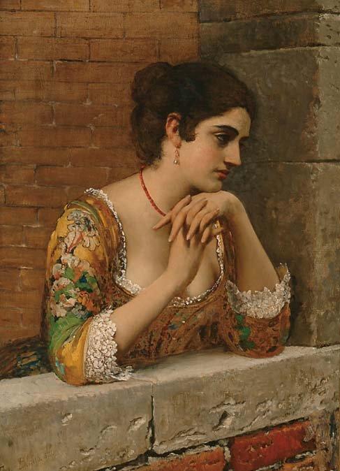 Austrian Art Eugen von Blass (1843-1932)
