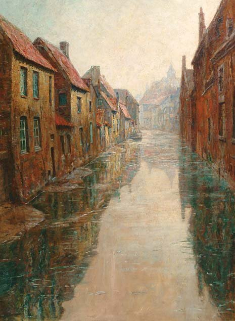Belgian Art Ferdinand Willaert (1861-1938)