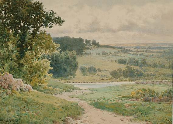British Art Arthur Suker (1857-1902)