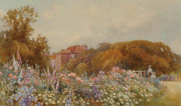 British Art Frank Gresley (1855-1936)