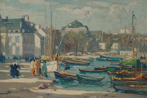 British Art Augustus W. Enness (1876-1948)