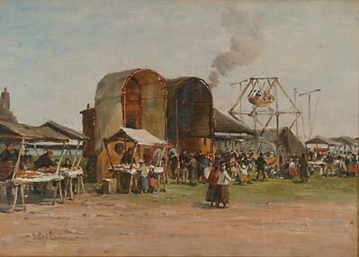 Scottish Art Hector Chalmers (1849-1943)