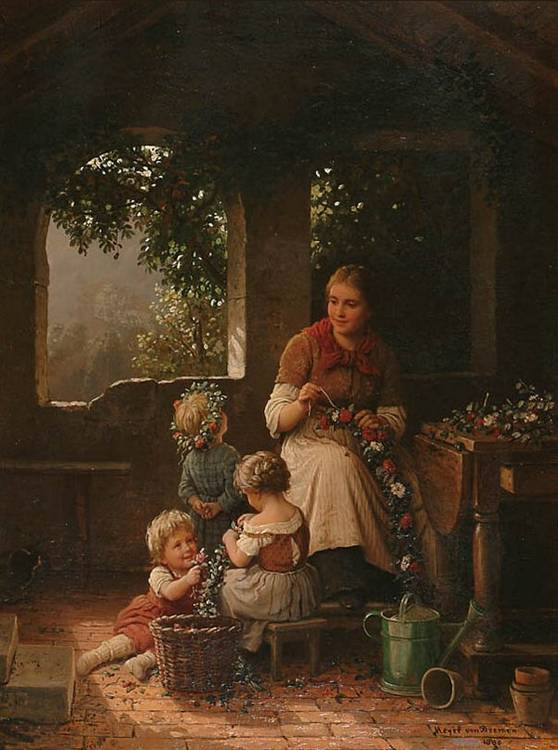 German Art Johann G. Meyer von Bremen (1813-1886)