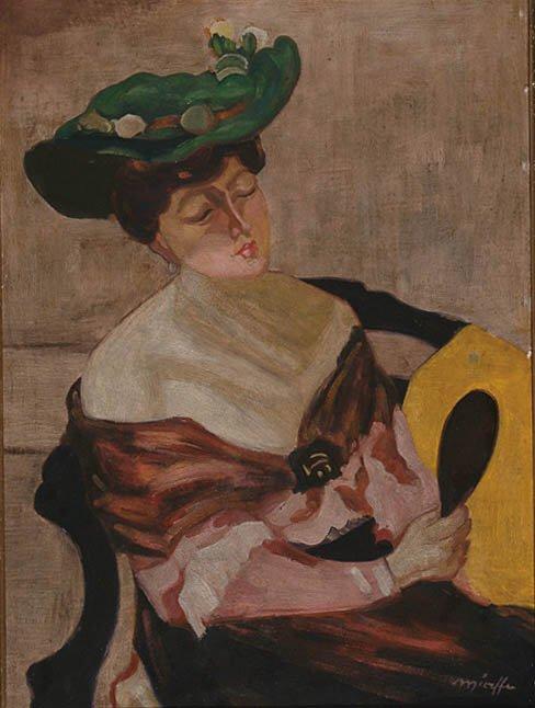 Hungarian Art Odon Marffy (1878-1959)