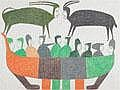 Inuit Art: JESSIE OONARK (1906-1985), E2-384,