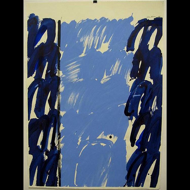 GRAHAM CANTIENI (1938-) CANADIAN GATEWAY; PAIR OF