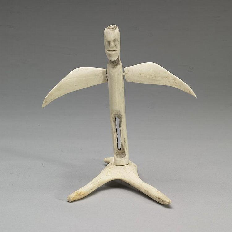 LUKE IKSIKTAARYUK (1909-1977), E2-45, Baker LakeWINGED SHAMAN