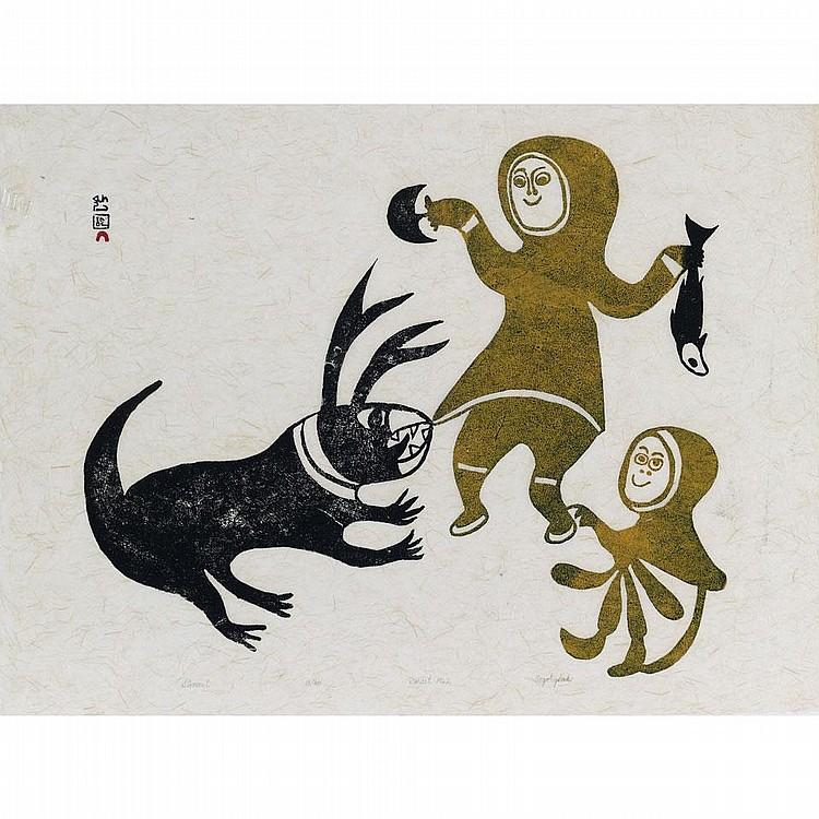 ANGOTIGOLU TEEVEE (1910-1967), E7-978, Cape DorsetUNTITLED