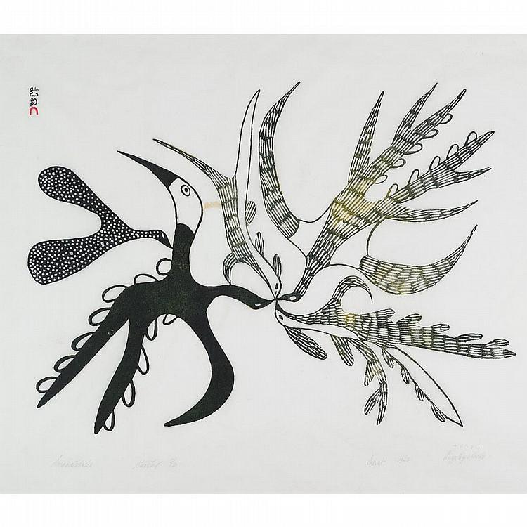 ANGOTIGOLU TEEVEE (1910-1967), E7-978, Cape DorsetEMAKATILIK