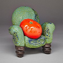 VICTOR CICANSKY, TOMATO CHAIR, 6.5