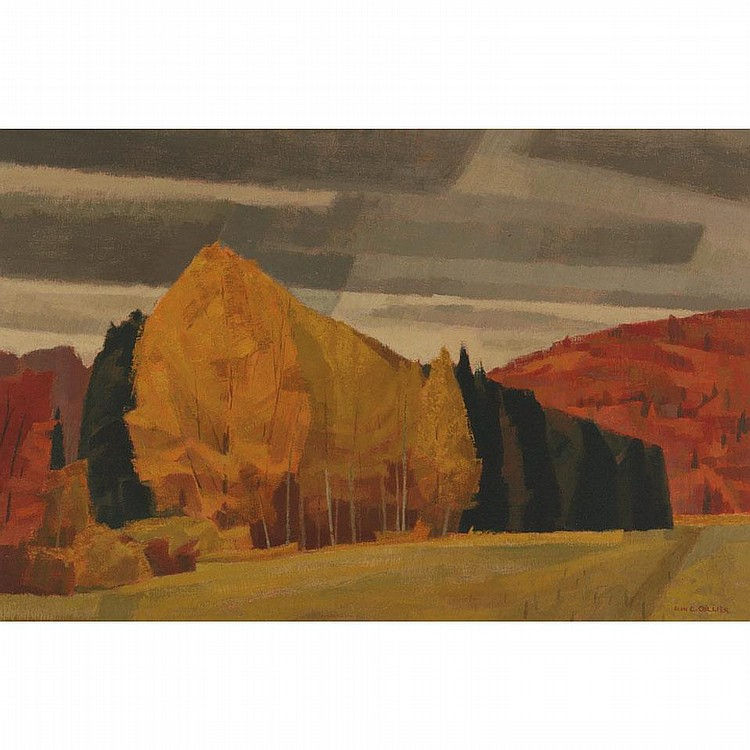 ALAN CASWELL COLLIER, O.S.A., R.C.A.AUTUMN, MADAWASKA VALLEY, NEAR COMBERMERE, ONT