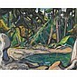ARTHUR LISMER, O.S.A., R.C.A.FOREST AND SHORE, B.C., Arthur Lismer, Click for value