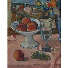 Francois Gall (1912-1987), STILL LIFE, Oil on canvas; signed lower right, titled and dated 1971 to gallery label verso, 11