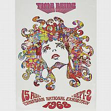 Canadian National Exhibition Poster, 'Time Being', 15 Aug. - Sept. 2, 1968, 40.75