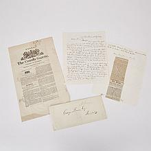 William Lyon Mackenzie Letter and Archive, 10 Feb. 1849, sheet 9.75