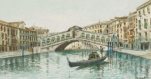 Antonio Guidotti (1881-1958), Italian THE RIALTO