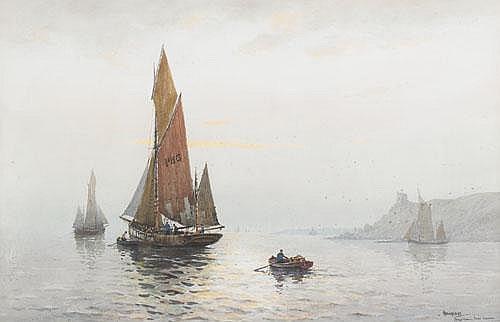Charles E. Hannaford (1863-1955), British EARLY