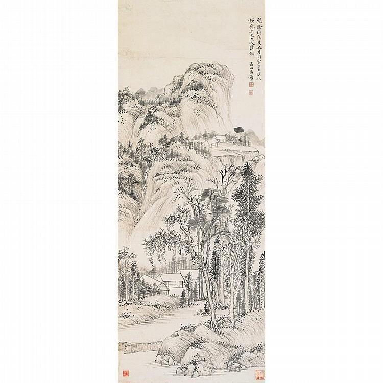 Huang Yue (1750-1841) LANDSCAPE AFTER HUANG GONGWANG, 1790