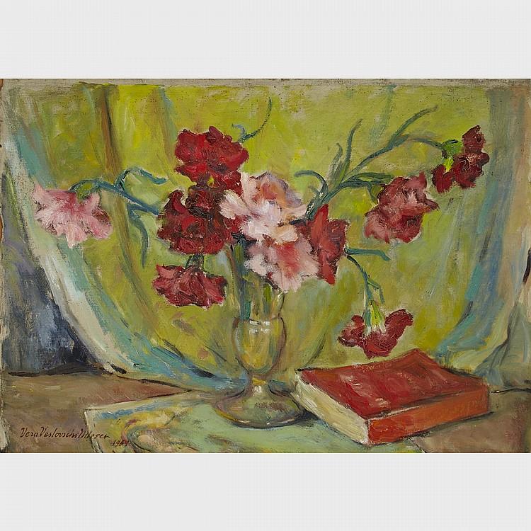 Vera Veslovschi NItescu (1901-1974), STILL LIFE, 19.5