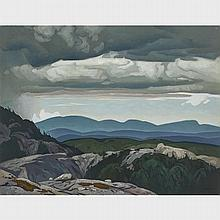 ALFRED JOSEPH CASSON, O.S.A., P.R.C.A., MINE WORKINGS - CLOCHE HILLS, 1965, oil on canvas, 24 ins x 31 ins; 61 cms x 78.7 cms