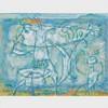 JEAN-PHILIPPE DALLAIRE, A NYMPH INTO THE ST. LAURENT'S RIVER, gouache, 14 ins x 18 ins; 33 cms x 44.5 cms, Jean Dallaire, CAD4,000