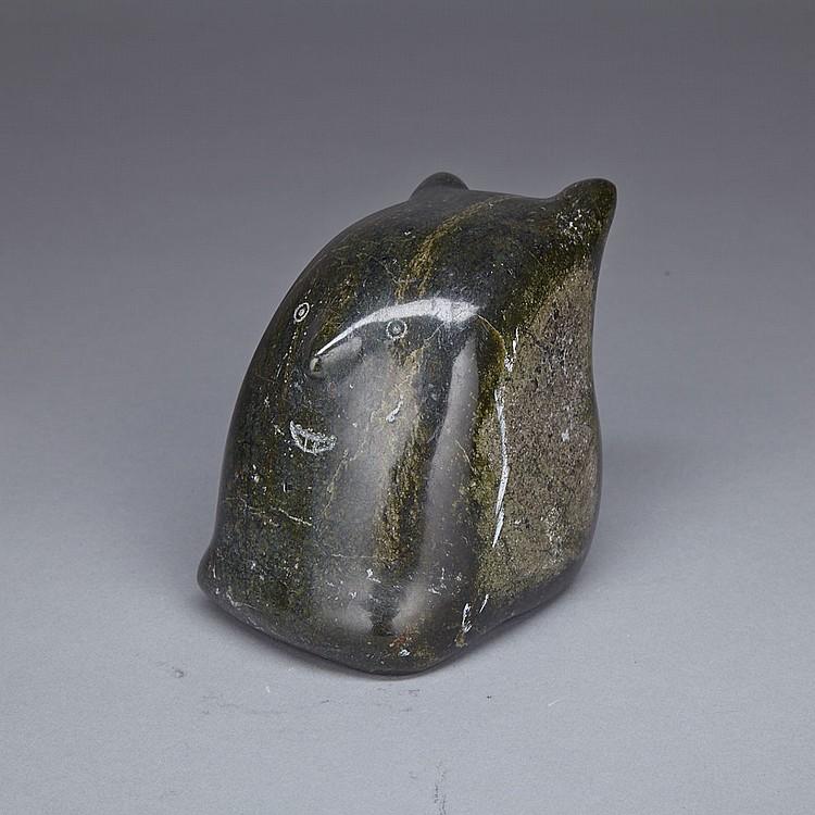 MARIA MAPSALAK (1950-), SHAMAN BEAR TRANSFORMATION, stone, 3