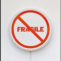 """KELLY MARK, NOT FRAGILE - 2012, diameter 12"""" x 30"""" - 30 x 75 cm."""