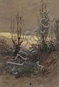 LUCIUS RICHARD O'BRIEN QUEBEC, watercolour;, Lucius Richard O'Brien, Click for value