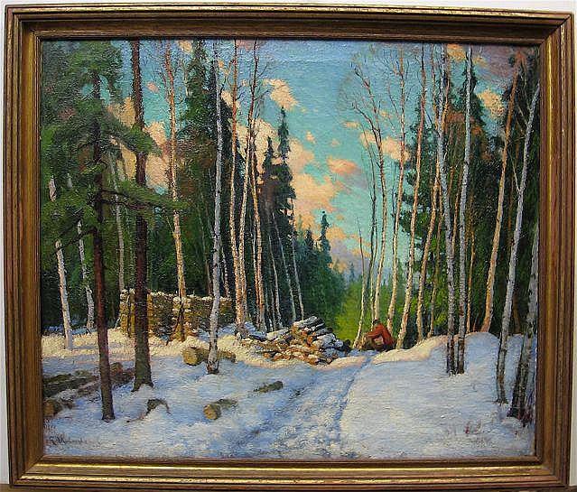GEORGE ARTHUR KULMALA (CANADIAN, 1896-1940)