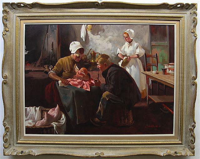 WITMAN ETELKA VIZKELET (HUNGARIAN, 1882-1962)