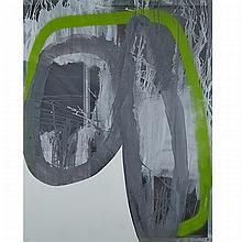 JOE FLEMING, YOU KNOW WHAT I'M TALKIN BOUT, enamel on polycarbonate with aluminum substrate, 46.5 ins x 36.5 ins; 118.1 cms x 92.7 cms