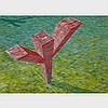 ED RADFORD, THERE SPROUTED FROM THE PRAIRIE, OIL ON CANVAS; SIGNED AND DATED '87 LOWER RIGHT; TITLED TO LABEL VERSO, 37.5