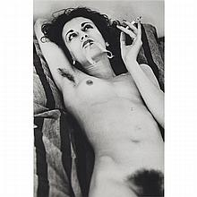 Helmut Newton (1920-2004), PORTRAIT OF VIOLETTA, 1979, Gelatin silver print; signed, titled and dated 1979 at Paris in blue pen and ink verso, Image/Sheet 11.3