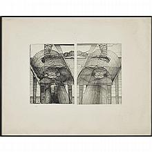 Dieter Roth (1930-1998), AN DER SEE (BY THE SEA), 1971 [DOBKE, 236], Etching on wove paper; signed, dated 71 and numbered 27/50 in pencil to margin, Plate 15.4