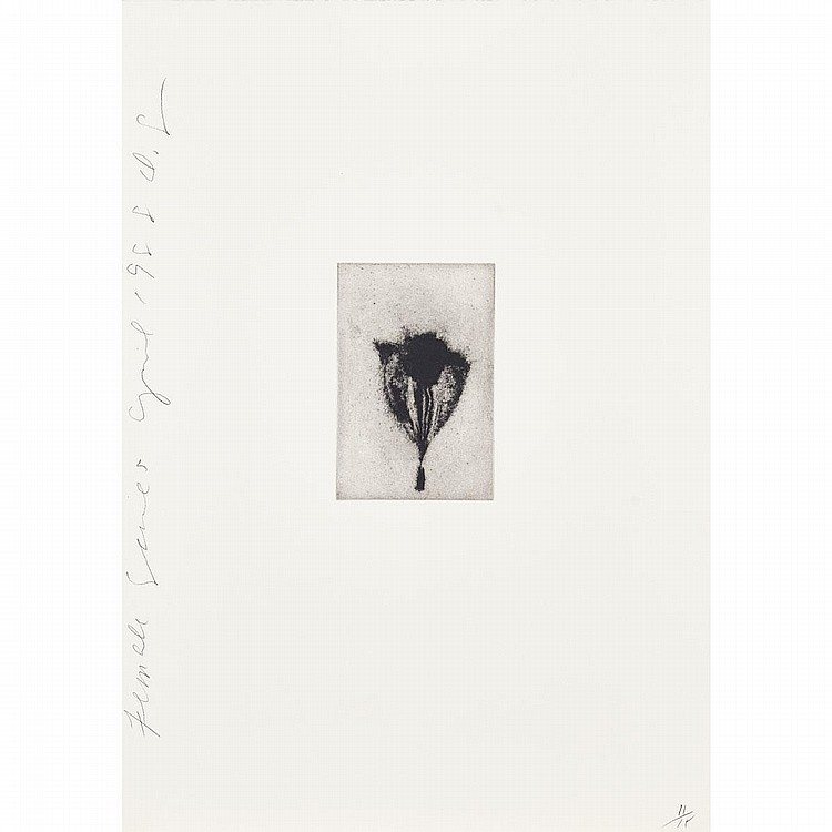 Donald Sultan (1951-), FEMALE SERIES, APRIL 1988 (SUITE OF 11), 1988, The complete set of eleven etchings with aquatint on thick Arches watercolour paper; each initialed in pencil, titled, dated April 1988, and numbered 11/15 in pencil to margins.