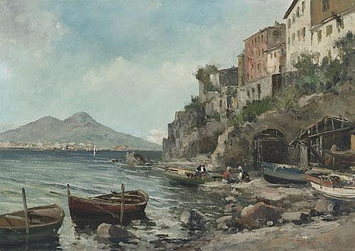 Ercole Magrotti (1890-1967), Italian NEOPOLITAN
