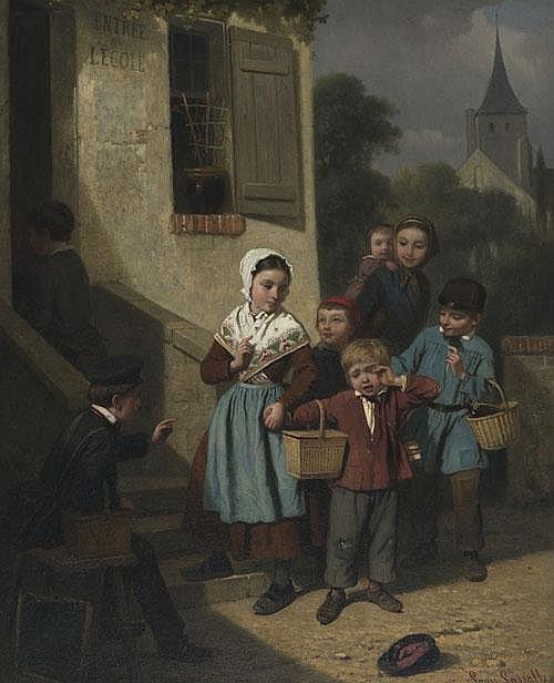 Louis Simon Cabaillot Lassalle (1810- ), French